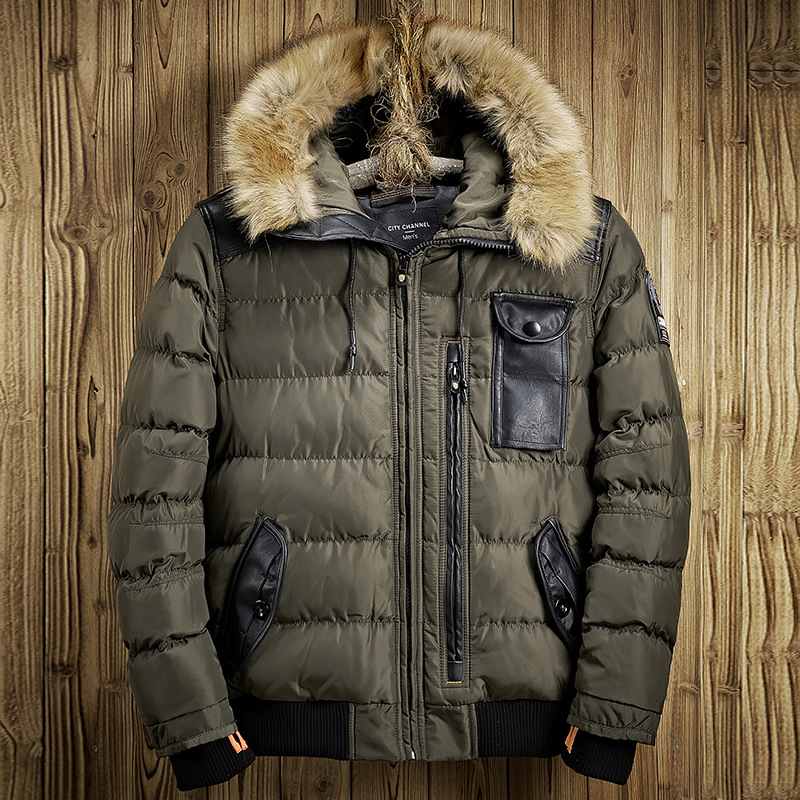 New 2017 Brand Casual Mens Jackets And Coats Thick Parka Men Outwear Jacket Male Clothing