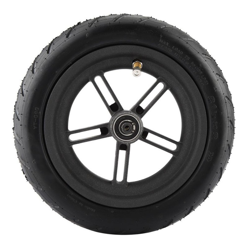 Electric Skateboard Wheel Scooter Inflatable Tire Rear Wheel For Xiaomi Mijia M365 Electric Scooter Pneumatic