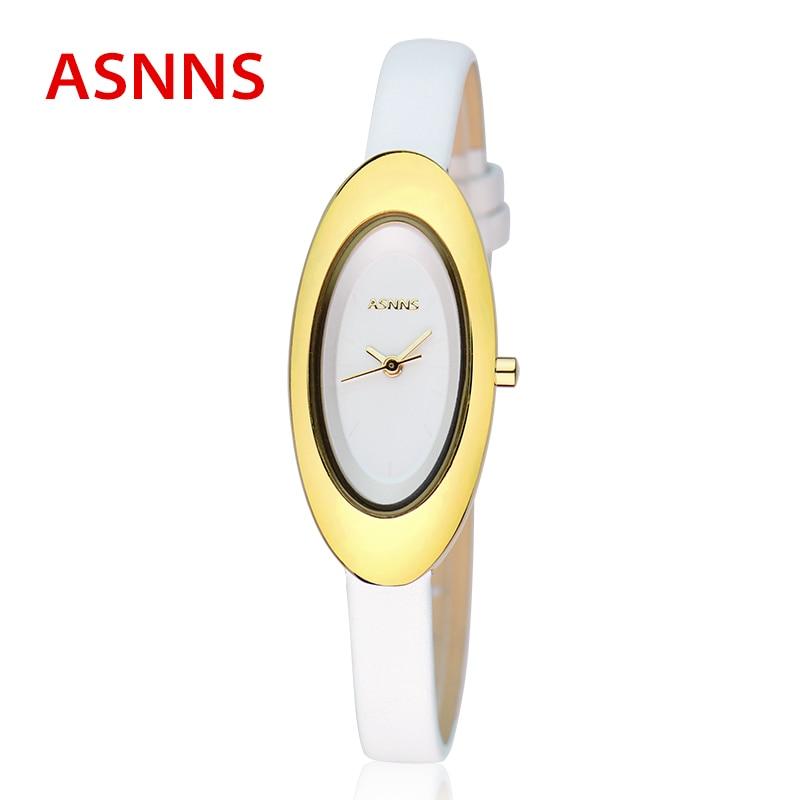 ФОТО Top Luxury Women Watches ASNNS Brand Womens Oval Dress Watch Lady Casual Quartz Wristwatch relogio feminino