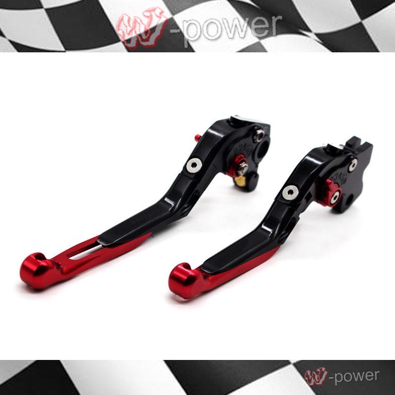 For DUCATI MONSTER 400 620 695 S2R800 Motorcycle Accessories CNC Billet Aluminum Folding Extendable Brake Clutch Levers for ducati multistrada 1200 dvt 2015 motorcycle accessories cnc billet aluminum folding extendable brake clutch levers