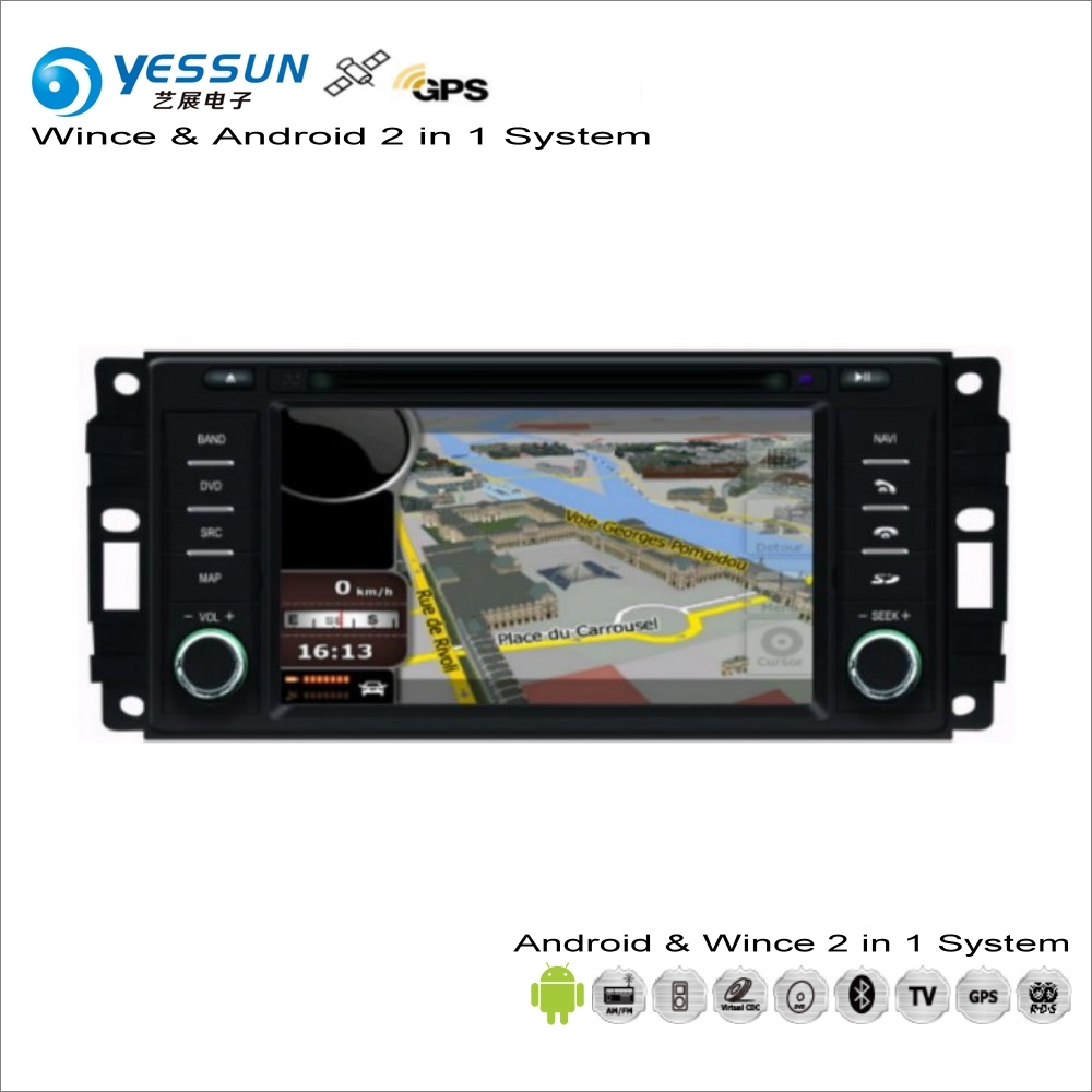 YESSUN For Dodge Challenger / Charger / Dakota 2008~2011 Car Android Stereo Radio CD DVD Player GPS Navi Navigation Audio Video