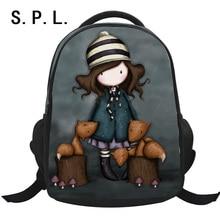 SPL heißer verkauf schultasche rucksack polyester schöne cartoon casual mädchen student tasche mochila escolar kinder tasche für shcool