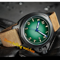 44mm Parnis Sapphire Glass Luminous Marks Men's Mechanical Wrist Watches