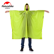 Naturehike Single Person 3 in 1 Portable Poncho Sunshade Camping Mat