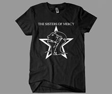 Sisters of Mercy T - Shirt The Worlds End Simon Pegg Retro 80s New Shirts Funny Tops Tee Unisex Loose Clothes