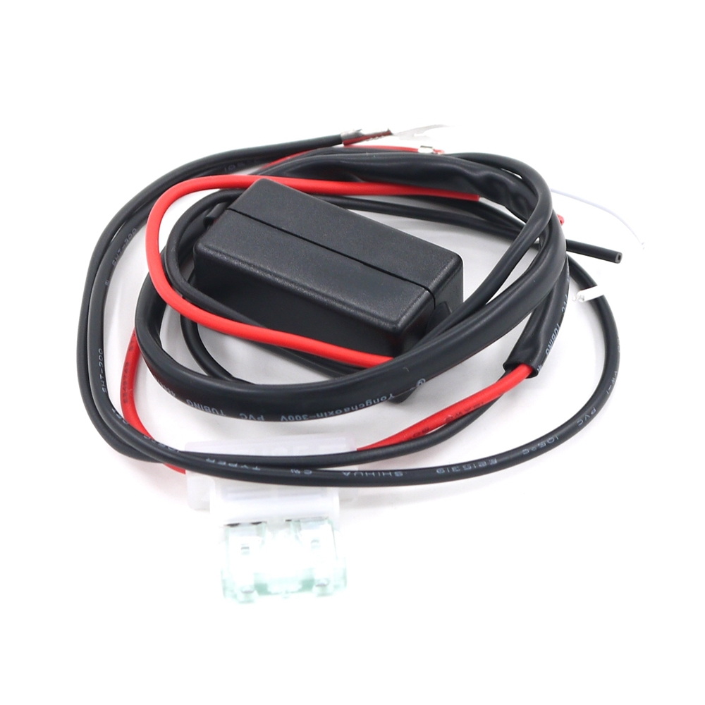 12v 2a Car Led Drl Relay Daytime Running Light Harness Hid Fog Driving Bar Wiring Switch Alex Nld Eonstime Auto Controller On