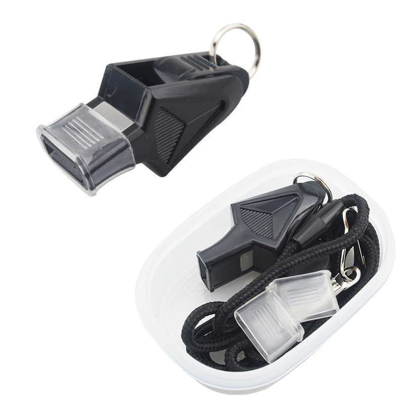 Authentic referee whistle special whistle basketball coach football whistle outdoor professional rescue survival whistle KS-018