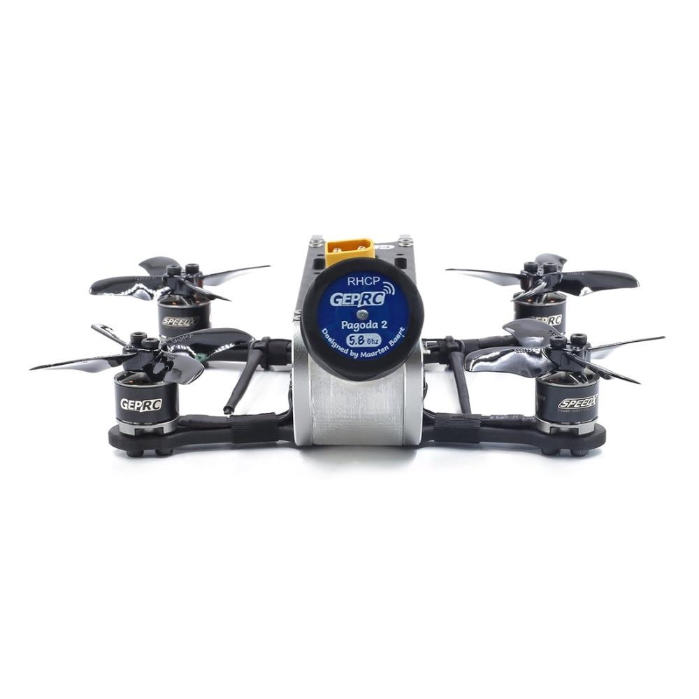 Gerpc GEP CX Cygnet 2 115mm 2 pouces RC course Drone Stable F4 20A 48CH RunCam fendu Mini 2 1080P HD FPV quadrirotor BNF/PNP Kit - 3