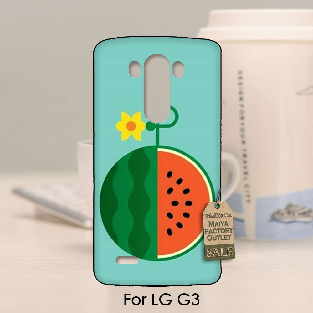 Online coloring mobile - 2016 Colored Drawing Hard Case For Lg G3 Case Online Custom Watermelon Flower China