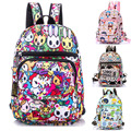 2016 New Small Waterproof Nylon Cute Cartoon Backpack Chest Pack Single Shoulder Kindergarten School Bags For Children Kids Boy