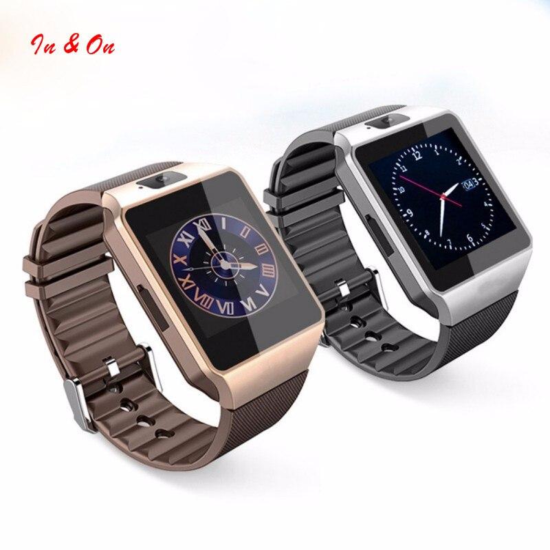 Nueva llegada de smart watch dz09 con cámara tarjeta sim reloj de pulsera blueto