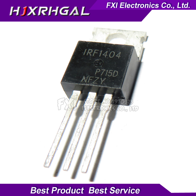 10PCS IRF1404PBF IRF1404 TO-220 TO220 New Original