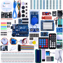 цена на Elegoo Kit Arduino UNO R3 Starter Kit Arduino Project Complete Starter Kit with Tutorial for Arduino (63 Items) EL-KIT-001