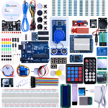 Elegoo Kit Arduino UNO R3 Starter Kit Arduino Project Complete Starter Kit with Tutorial for Arduino (63 Items) EL-KIT-001 frearduino leonardo r3 for arduino works with official arduino boards page 7