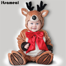 Baby Boy Toddler Reindeer Movie Character Cosplay Fancy Dress Halloween Party Carnival Costumes(China)