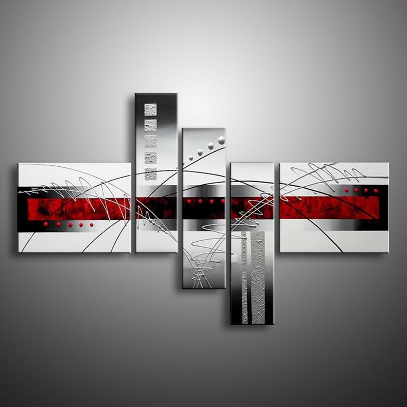 Decoración de la pared pintura al óleo pintura al óleo moderna - Decoración del hogar - foto 6