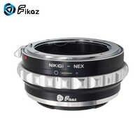 Fikaz Objektiv Mount Adapter Ring Für Nikon G Montieren F/AI/G Objektiv Sony E-mount NEX NEX-3 NEX-3C NEX-3N NEX-5 Alpha a6000 a5000