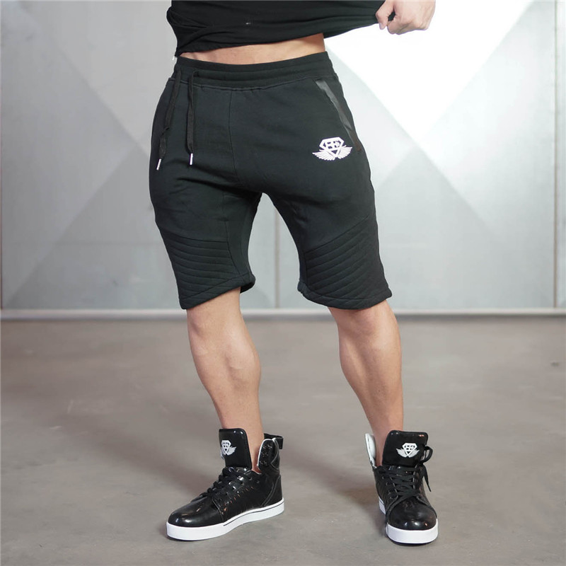 2017 New arrival Brand clothing BE sporting Gyms shorts men fitness clothing shorts homme bodybuilding bermuda men shorts