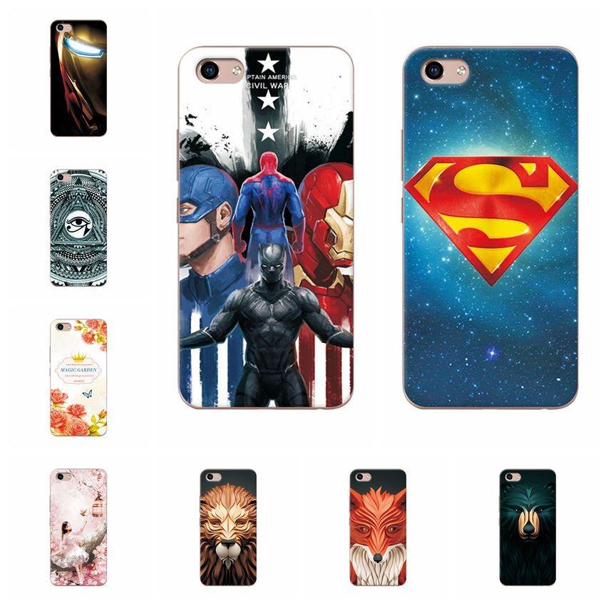 Attractive Phone Case For Vivo Y81 6.22'' Soft TPU Silicone Chic Vivo Y81 Cover For Vivo Y81 Y 81 Shell Coques Funda