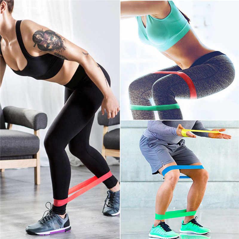 5 sztuk/zestaw elastyczne taśmy oporowe lateksowe na siłownię zestaw trening siłowy gumowe liny Fitness Pilates Weerstand Band