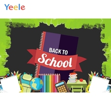 Yeele Wallpaper Back to School Books Pencils Party Photography Backdrop Personalized Photographic Backgrounds For Photo Studio