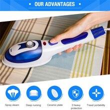 Défroisseur vapeur portable multifonction, défroisseur plat pour vêtements et vêtements de maison