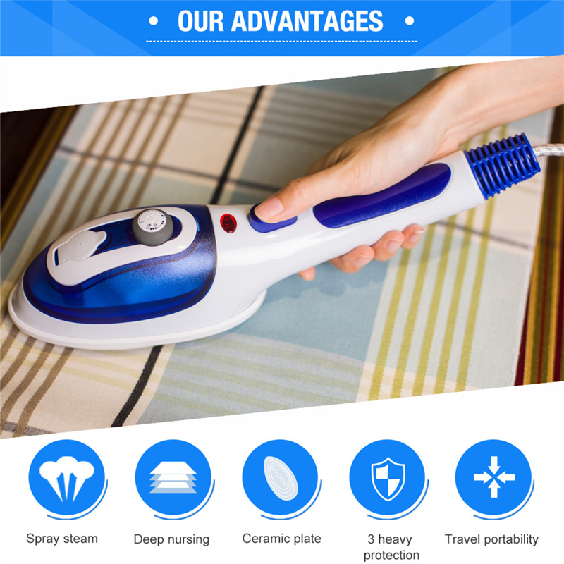 portable Handheld steam iron engine home clothes steamer machine flat hot multi-function streamwr steamer for clothes garment
