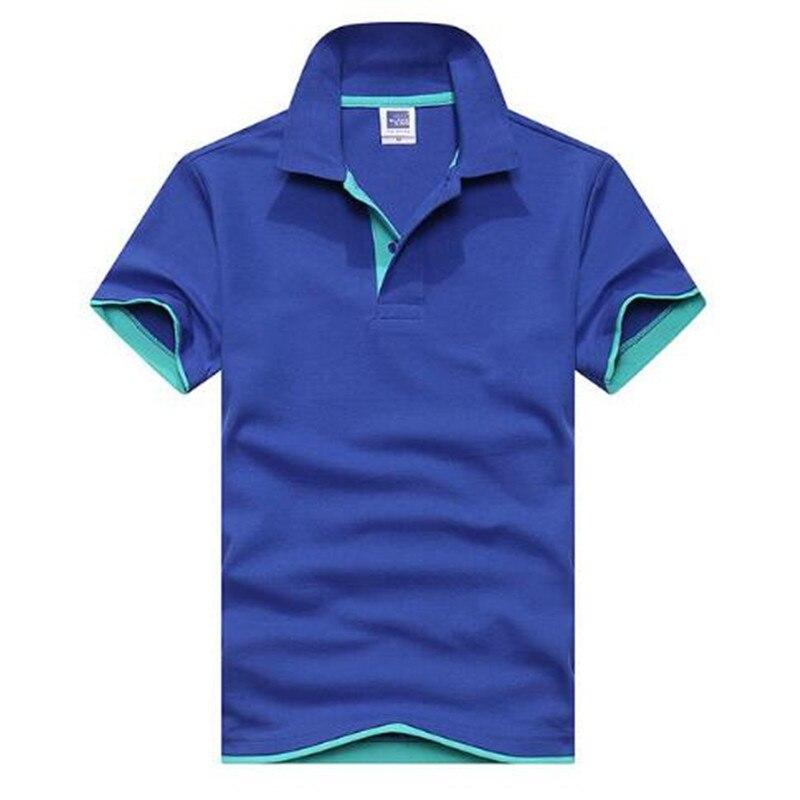 2019 Neue Männer Der Kurzen Ärmeln Polo Shirt Schlank Mode Polo-shirt Polo-shirt Revers Bekannt Marken Von Hochwertige Hemd Xs-3xl