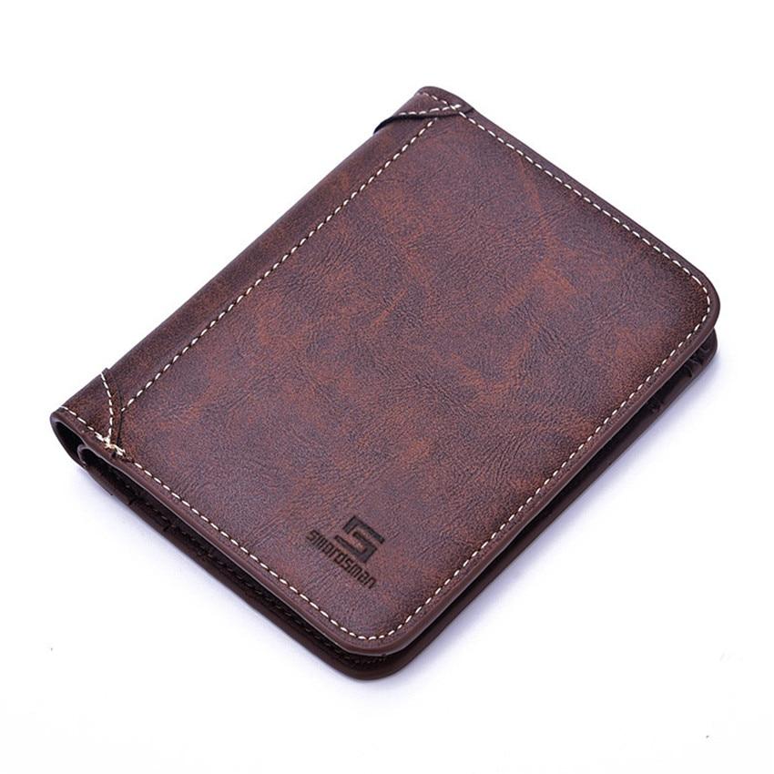 Men's Bags 2019 Latest Design Rfid Fashion Men Wallets Small Wallet Men Money Purse Coin Bag Zipper Short Male Wallet Card Holder Slim Purse Money Wallet W358