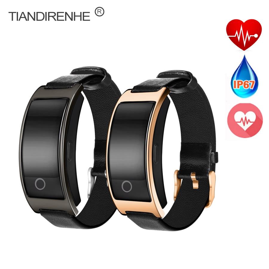 imágenes para Tiandirenhe Inteligente Reloj de Pulsera Banda de Presión Arterial CK11 Gimnasio Heart Rate Monitor Podómetro Smartwatch para Android IOS Teléfono