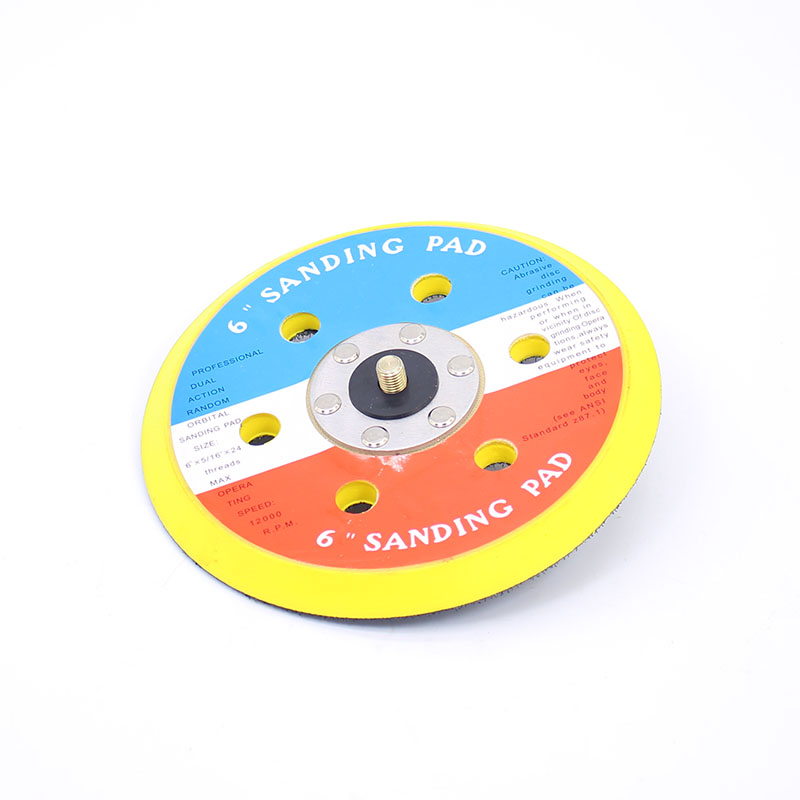 1PCS 6 Inches 6 holes Pneumatic Vacuum Sander Parts Polishing Foam Disc Pad Dia 150MM 5inch this fall 125mm pneumatic sander disc sandpaper machine bd 0142