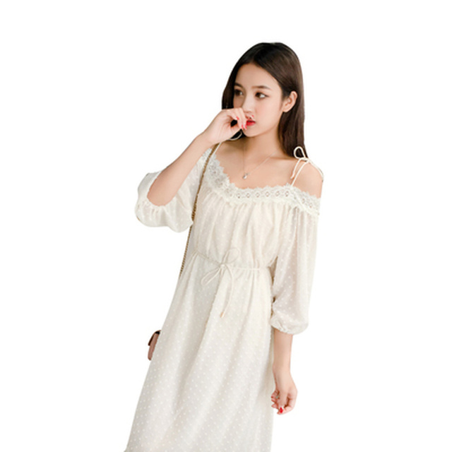 3b468edb1eb 2019 Summer Sexy Shoulderless Chiffon Pregnancy Dress Fashion Tie Waist Maternity  Clothes for Pregnant Women Stylish Clothing