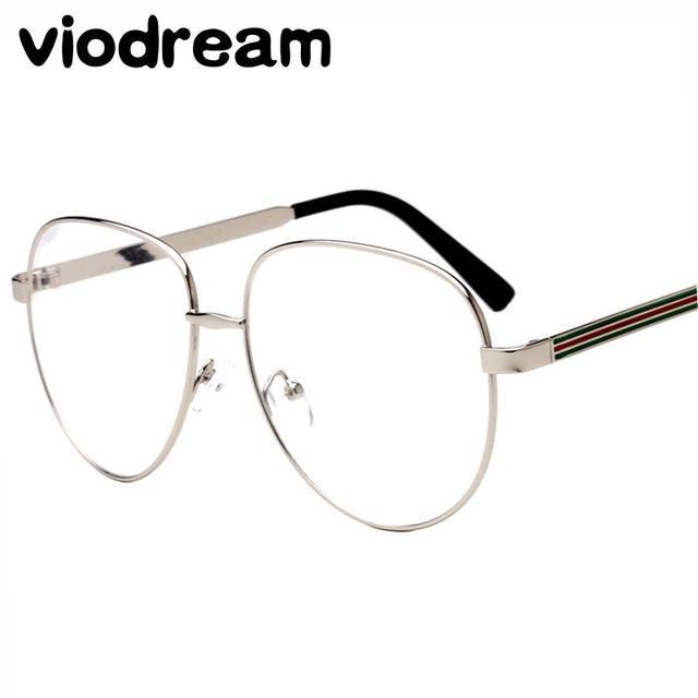 2bfb707e677 Viodream Big lens glasses frames decoration accessories optical glasses  Flat glasses fashionable cool eyewear glasses frames 194