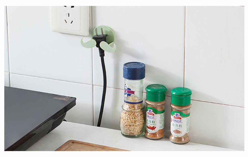 Accesorios de perchas de ropa de almacenamiento para el hogar herramientas de gancho de cocina gancho de pared de oficina colgador de llaves adhesivo para el hogar