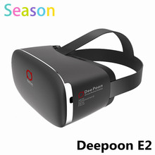 2016 DEEPOON E2 Virtual Reality 3D PC Glasses 1080*1920 VR Headset Head Mount Compatible with DK2 's Game Movie