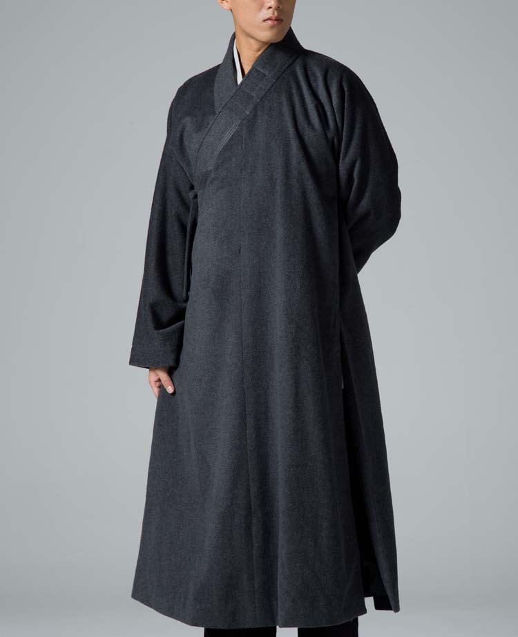 how to wear buddhist monk robe