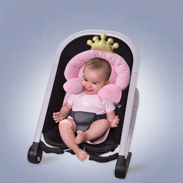 Infant Car Seat Head Support Baby Pillow Luxe And Neck