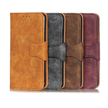 Vintage Tattoo Leather Wallet PU Phone Case For Xiaomi Redmi K20 Pro 5A 6A 7A 5 6 7 Note 6Pro