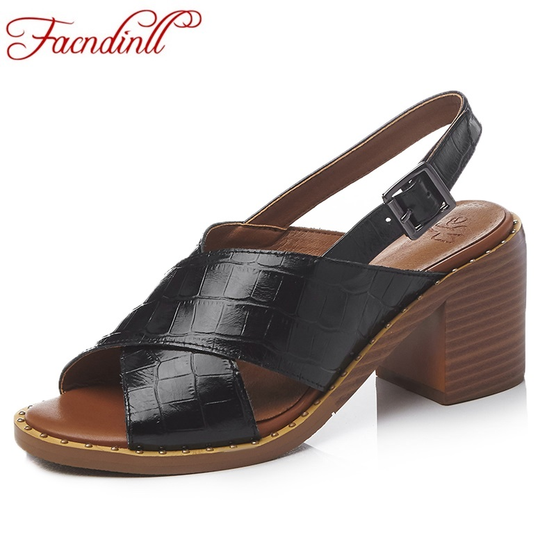 women sandals new 2017 hot summer fashion genuine leather sexy high heels peep toe shoes woman dress party plus shoes size 34-43 zorssar brand 2017 high quality sexy summer womens sandals peep toe high heels ladies wedding party shoes plus size 34 43