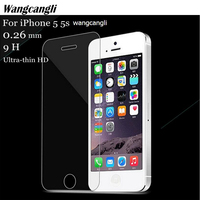 2.5D Protective Glass on the For iphone if Tempered Glass Screen Protector for iphone 5 SE 5S 5s 5c 4 4s Glass Tempered 9 H film