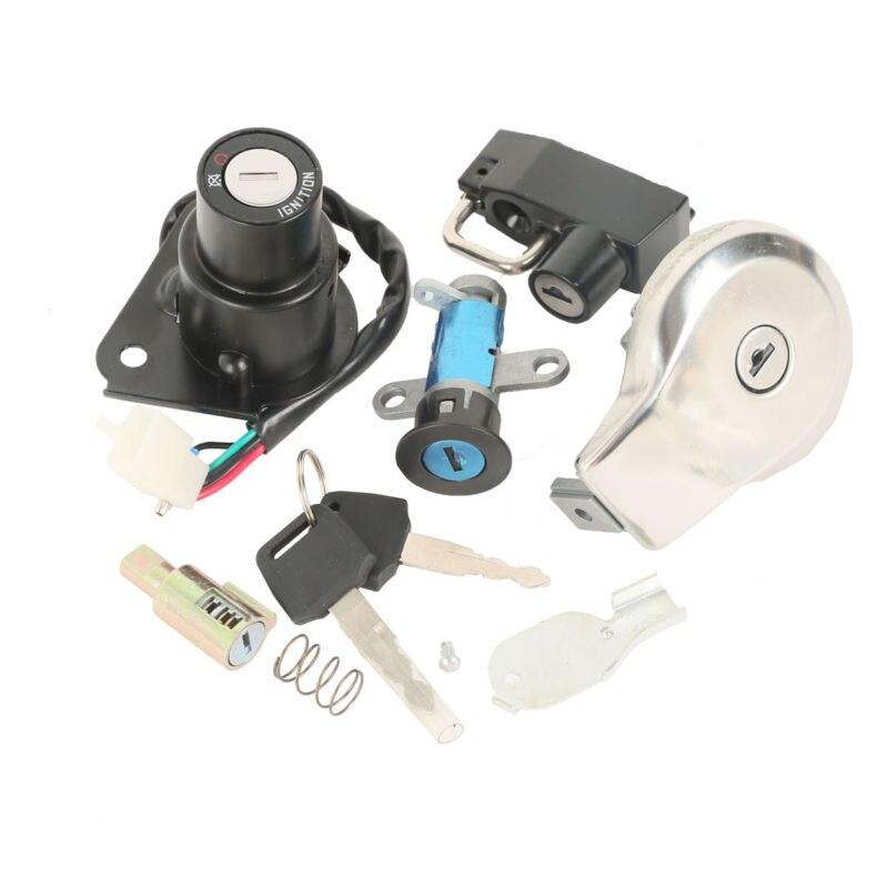Carburante Gas Cap Key Set Per Yamaha VIRAGO XV125 XV250 XV535VIRAGO XXV240 250 3LS