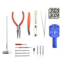 Watch Tools Watch Opener Remover Spring Bar Repair Pry Screwdriver Clock Watch Repair Tool Kit Watchmaker Tools Parts toolbox цена