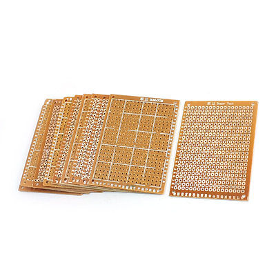 10pcs 5x7cm DIY Single Side Prototype Copper PCB Circuit Universal Board universal single sided pcb copper clad board for diy 10 piece pack