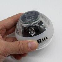 Jakość Zasilania Wybuchowe Szkolenia Gyroscrope Siły ball Żyroskop Nadgarstek Ręka Exerciser Piłka Ręczna Spinner z LED Miernik Prędkości