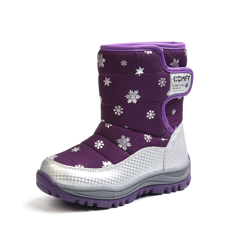 CLOWN DUCKS Girls Snow Boots Children Shoes Winter Boots For Girls Sport Boy Shoes Kids Sneakers 2019 Brand Fashion Boots
