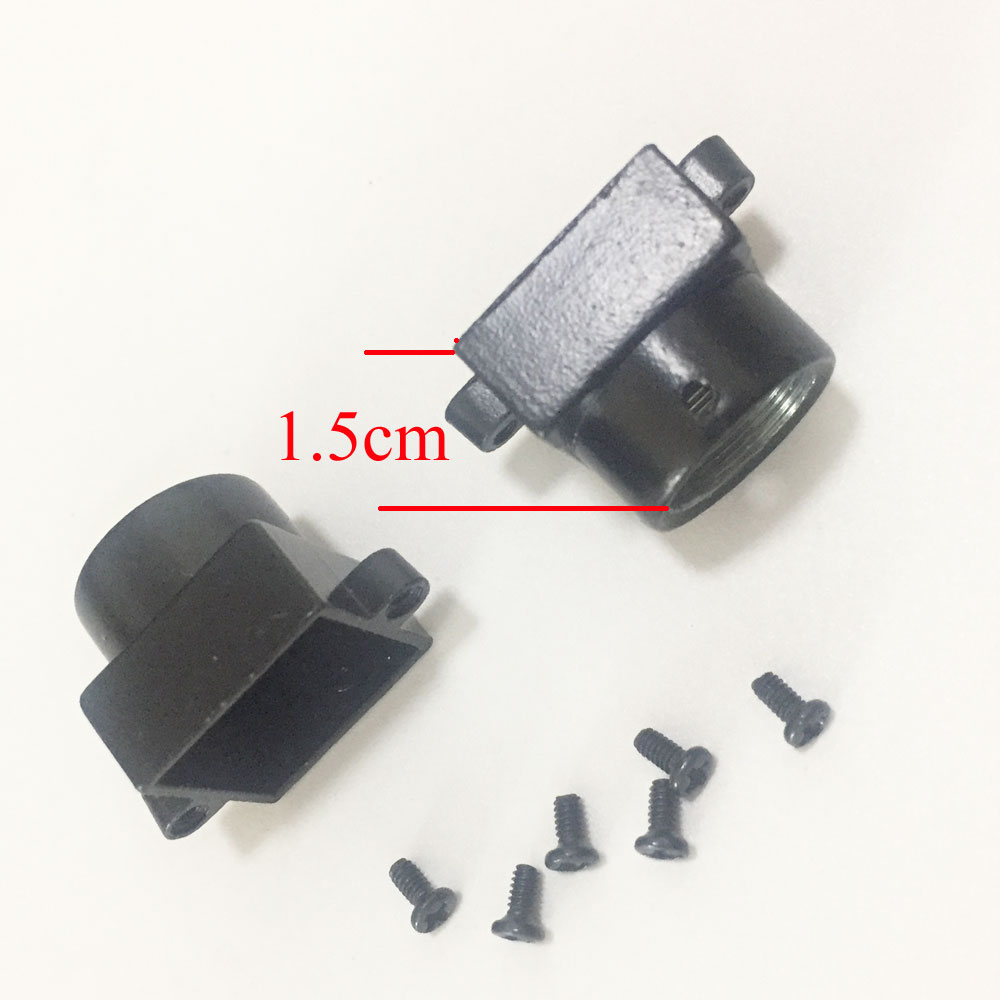 Image 2 - 2PCS Metal M12 Lens Mount MTV Security CCTV Camera m12 Lens Holder Bracket Support Board Module For CCD AHD TVI 1080P mini Cam-in CCTV Accessories from Security & Protection