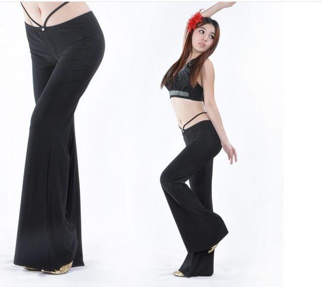 Harem Pantaloni Donne Della Delle Signora Modale Cristallo Di Solido EIWDH9Y2