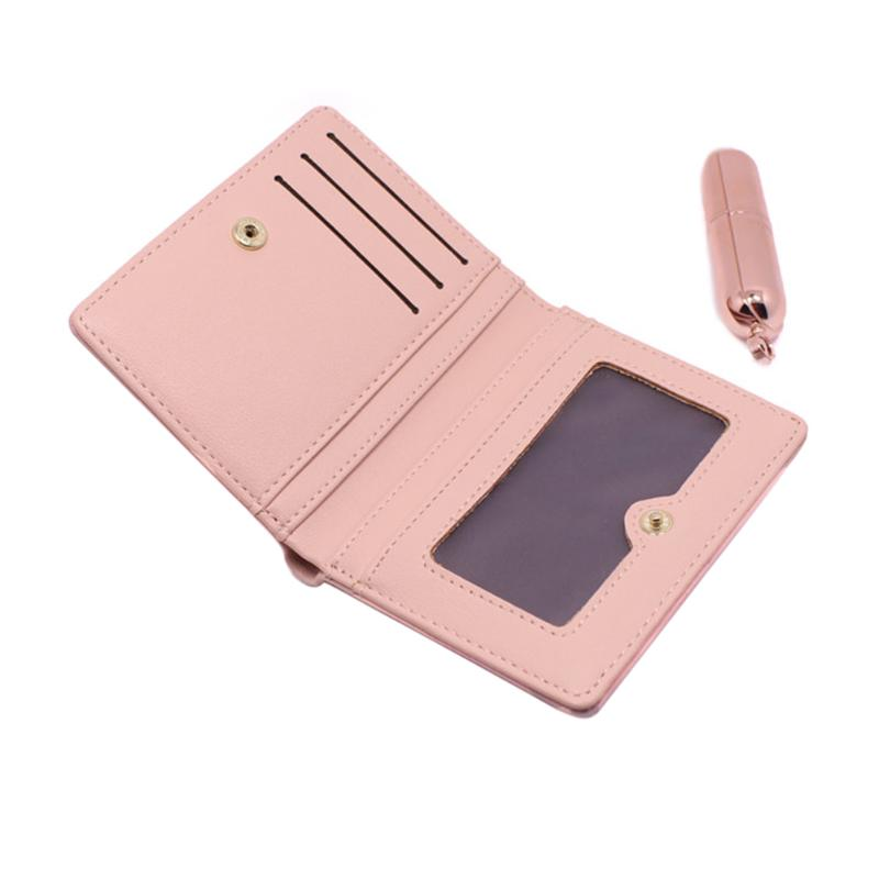Women Wallet Coin Card Cash Bag Tassels Multi-Slots Short Wallets Fashion Lady Small Square Purse Solid Female Clutch Carteras