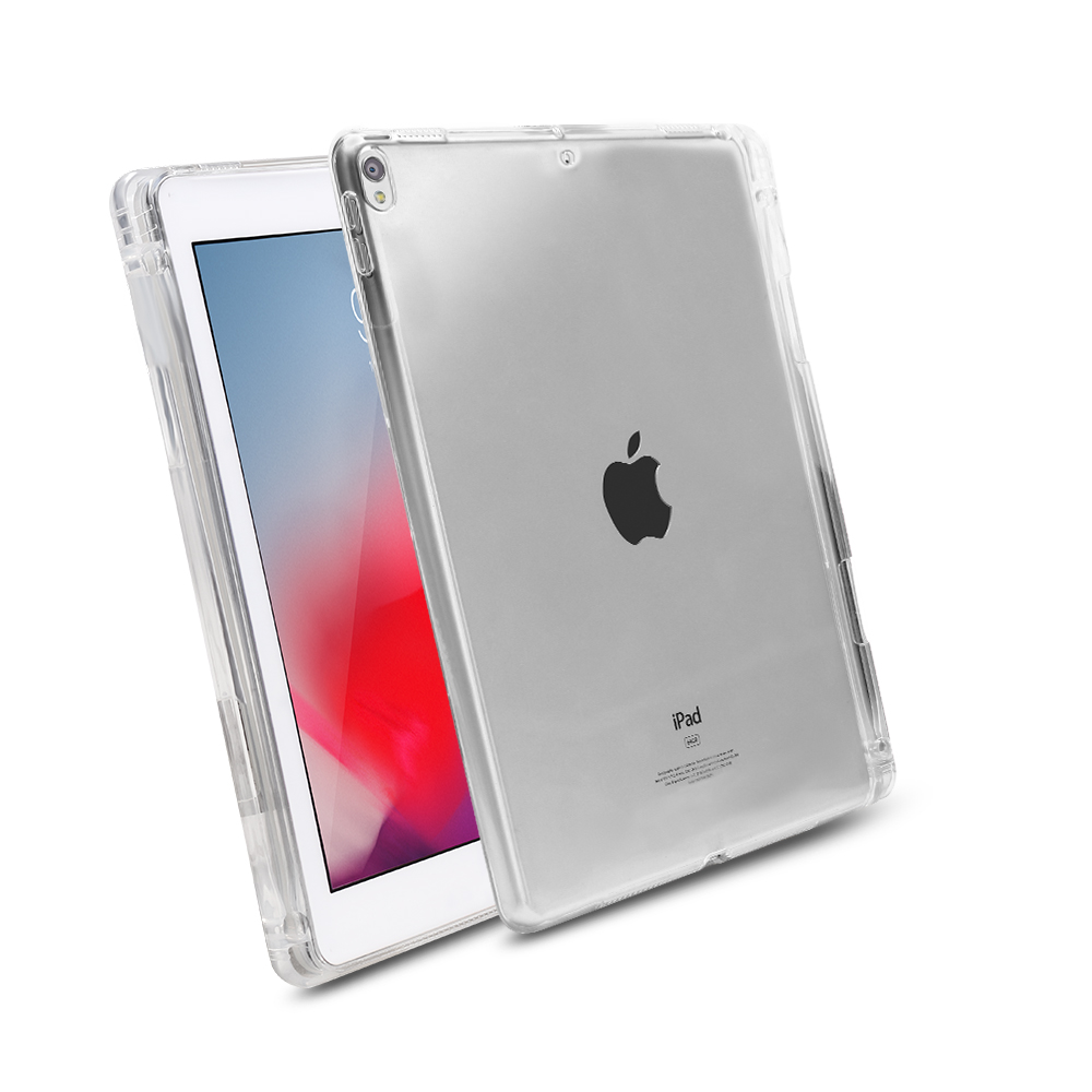 Case For IPad Pro 10.5 And Air 3 2019 Tpu Soft Silicone Smart Cover For IPad 10.5 Case With Pencil Holder Transparent Back Cover