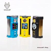 Original E Electronic Cigarette Snow Wolf Vfeng 230W Box Mod Big 1 30inch TFT Touch Screen